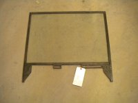 RIGHT HAND DOOR WINDOW FRAME WITH GLASS